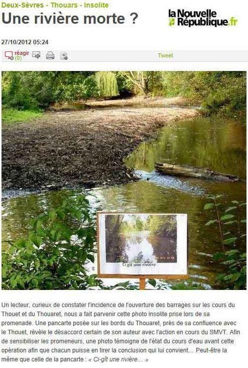 rivière sauvage sans eau