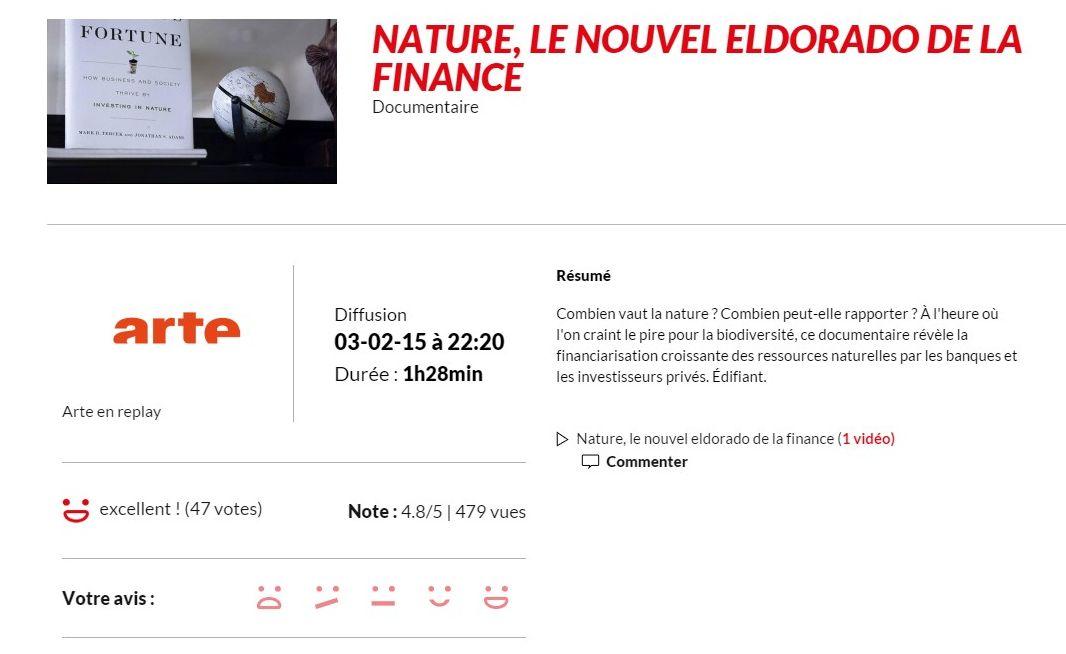 arté_Nature le nouvel eldorado