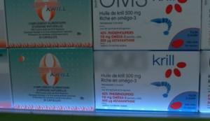 le krill est très riche en oméga-3