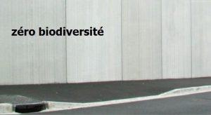 zéro biodiversité